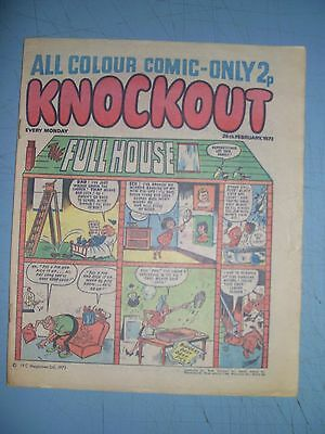 Knockout issue dated February 26 1972