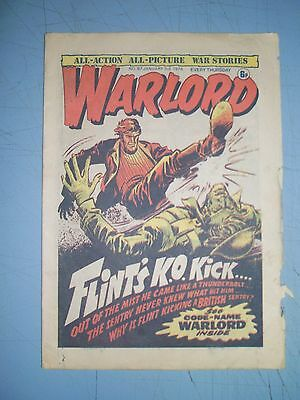 Warlord issue 67 dated January 3 1976