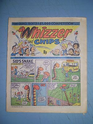 Whizzer and Chips issue dated July 16 1977