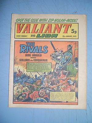 Valiant issue dated January 25 1975