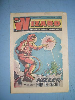 Wizard issue dated March 1 1975