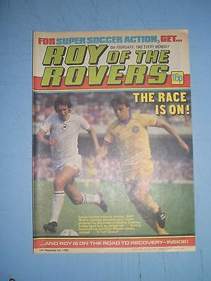 Roy of the Rovers issue dated February 6 1982