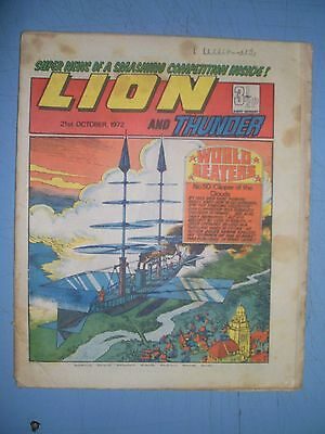 Lion issue dated October 21 1972