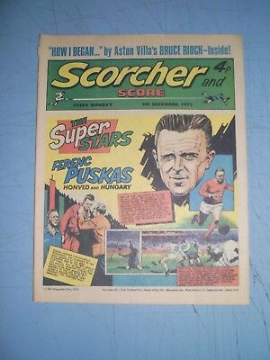 Scorcher and Score issue dated December 9 1972