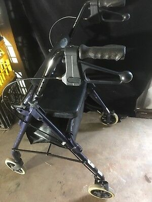 Mobility Aid - Seat Walker Rollator