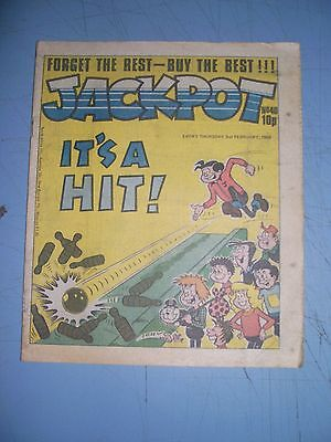 Jackpot issue 40 dated February 2 1980