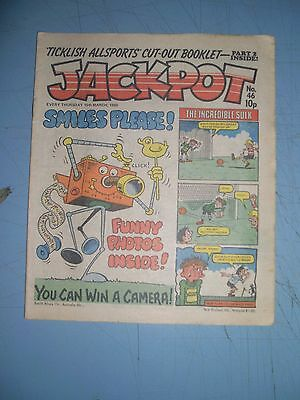 Jackpot issue 46 dated March 15 1980