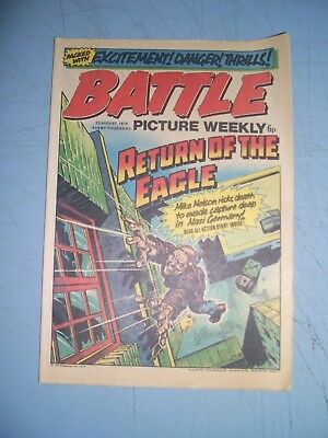 Battle Picture Weekly issue dated August 23 1975