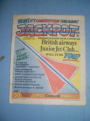 Jackpot issue 39 dated January 26 1980