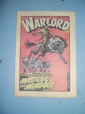 Warlord issue 395 dated April 17 1982