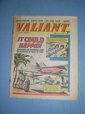 Valiant issue dated July 30 1966