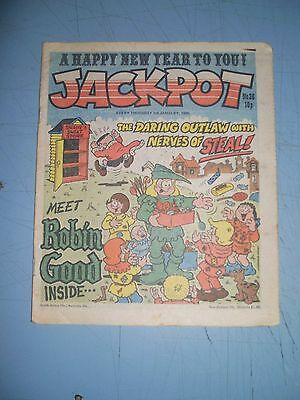 Jackpot issue 36 dated January 5 1980