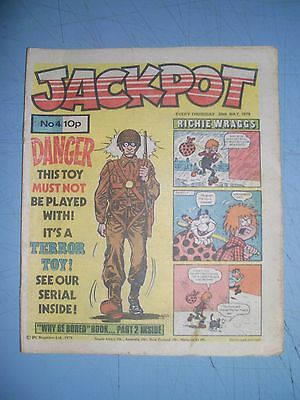 Jackpot issue 4 dated May 26 1979