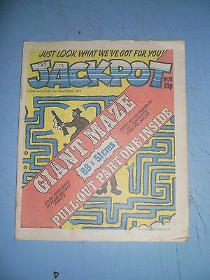 Jackpot issue 28 dated November 10 1979