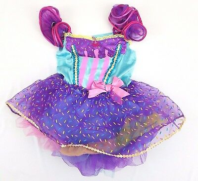 Cupcake Toddler Girls Halloween Dress Up Tutu Costume Dress Size 3T-4T