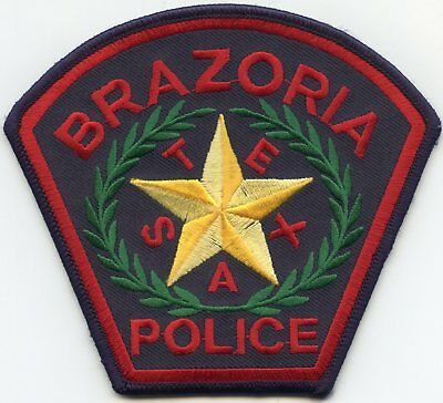 Brazoria Texas Tx Police Patch
