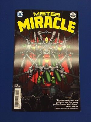 Mister Miracle 1 2017, Tom King, Mitch Gerads, Comic