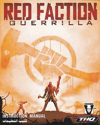 Red Faction Guerrilla   **Manual Only**