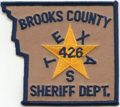 Brooks County Texas Tx Sheriff Police Patch