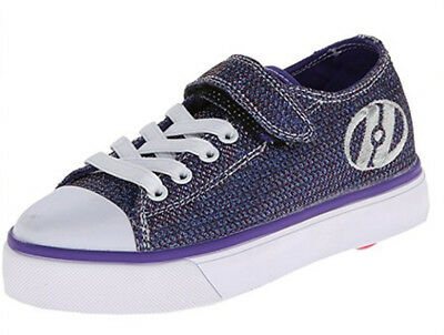 Heelys Snazzy Skate Shoe Multi Glitter,13 M US Little Kid TWO WHEELS DOUBLE FUN