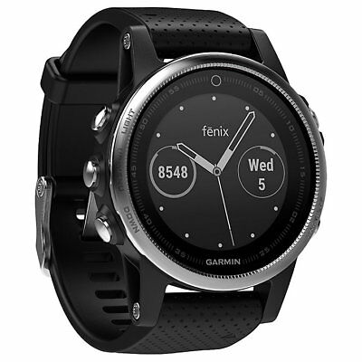 Garmin Fenix 5S GPS Multi-Sport Training Watch Black (ML1945)