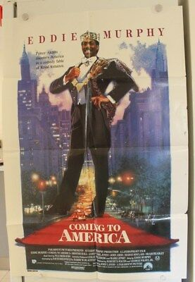 Coming to America - Original Movie Poster