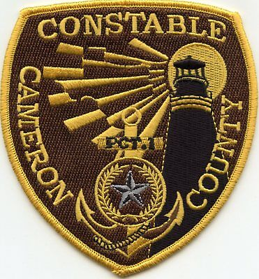 CAMERON COUNTY TEXAS TX lighthouse CONSTABLE SHERIFF POLICE PATCH