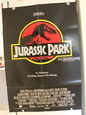 Jurassic Park - Original Movie Poster