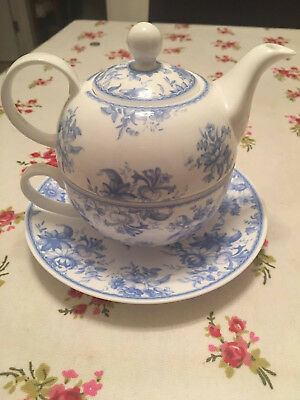 Whittard Of Chelsea Tea For One Set Earl Great Tea for One