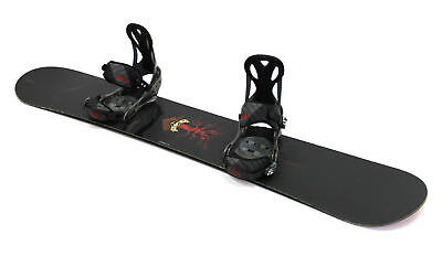 2008 Arbor Formula 152cm Snowboard with Medium Burton Mission Bindings