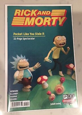 Rick and Morty Pocket Like You Stole It #1 Nintendo Gen Con Variant - NM unread