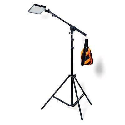 Aputure AL-528 (H528) LED Video Continuous Portable Lighting Kit with Boom