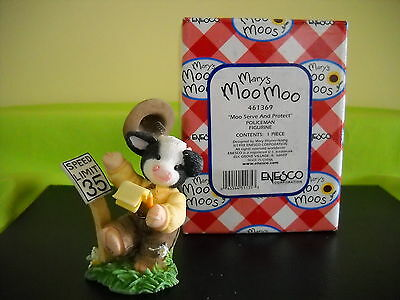 Mary's Moo Moos Moo Serve And Protect Sty#461369 810Mm716 W/box