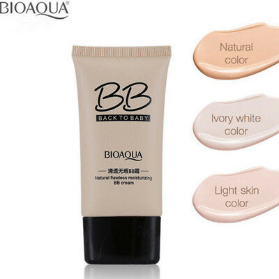 3 Colors Makeup Moisturizing BB Cream Concealer Oil-control Liquid Foundation