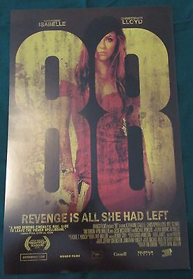 88 Movie Promo Poster Fan Expo Comic Con 2013 11 x 17 Katharine Isabelle Horror