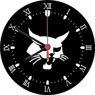 Bobcat Tool Adornment Wall Clock