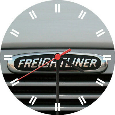 Freightliner Motor Adornment Wall Clock