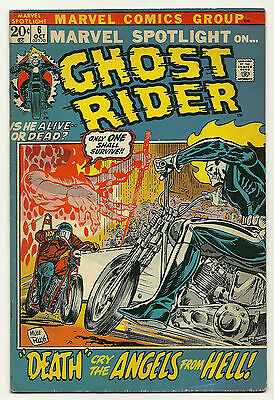 Marvel Spotlight 1972 #6 Fine Ghost Rider
