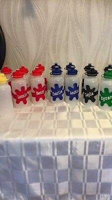 Back To School Childrens Personalised Water Drinks Bottle 300ml -small preschool