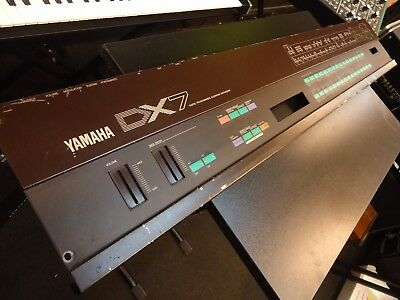 Yamaha Dx7 Synthesizer Top Cover/plate Face Button/switch Surface Spare Part