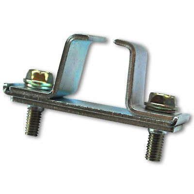 Connecting piece for sliding door rails suspended (30108)