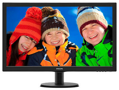 """Philips 273V5LHAB 27"""" Full HD LED Monitor with Stereo speakers"""