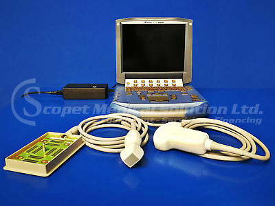Sonosite MicroMAXX  Portable Ultrasound System with 2 Probes (Laptop)