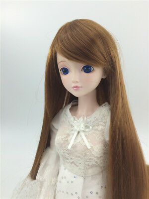 "New 1/3 Girl BJD SD Doll Wig Dollfie 8-9"" DZ DOD LUTS Bjd Doll Wig Middle Wig"