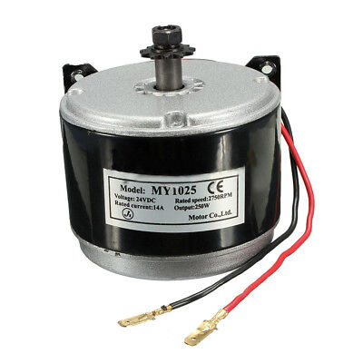 24V Electric Motor Brushed 250W 2750RPM Chain For E Scooter Drive Speed Con W9U1