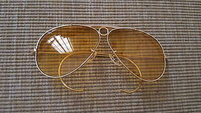 Ray Ban Vintage Bausch & Lomb Kalichrome Bullet Hole Shooter (Very Rare!!)