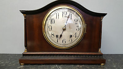 Mahogany Bracket Clock with Strike