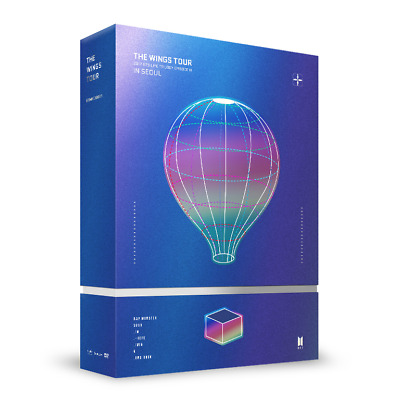 BTS LIVE TRILOGY EPISODE III [THE WINGS TOUR IN SEOUL CONCERT] DVD + Poster