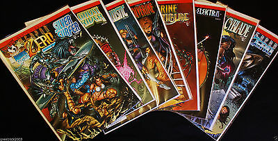 DEVIL'S REIGN #1 to #8 Full Run VF/NM (9.2) Marvel & Top Cow Comics  1996-1997