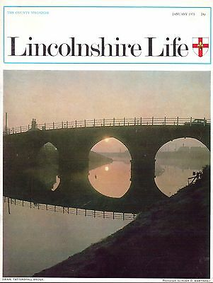 LINCOLNSHIRE LIFE January 1975 featuring Cobblers Cottage at Osbournby